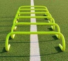 Roxan Vishwa Track and Field Speed Agility Hurdles, 6-inches (Parrot Green) – Pack of 6 Price & Reviews