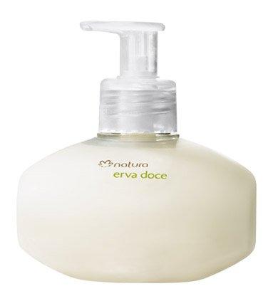 Linha Erva Doce Natura - Sabonete Cremoso para as Maos 250 Ml - (Natura Fennel Collection - Hand Creamy Soap 8.45 Fl - Creamy Ounce 8.45
