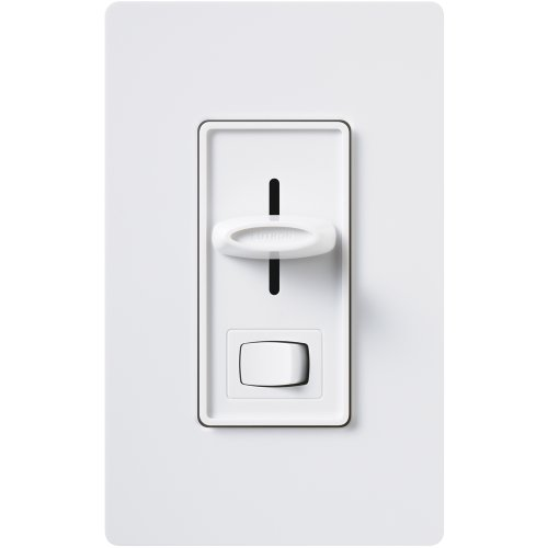 Lutron S-10P-WH 1000-Watt Skylark Single-Pole Dimmer, White ()