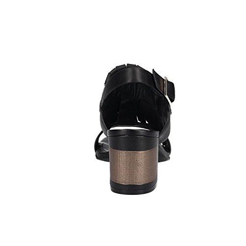 Bruno Premi Sandals R1402P Vitello Tacco Black A2Cmvm