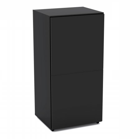 Nexera 221206 1-Door Bookcase, Black by Nexera