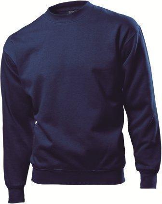 Hanes - Sweat-shirt -  Homme -  Bleu - Bleu marine - petit