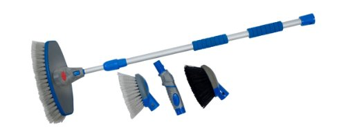 Detailer's Choice 5371K 4-in-1 Flow-Thru Brush and Cleaning System