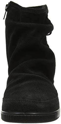 Femmes Pixie Noires Hotter Pour noir 001 Slouch Bottes wtq4PWzP