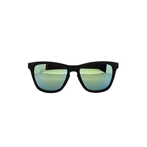 Shop Green soleil Matt Black Wayfarer Wf36 de classique ASVP Lunettes UV400 ® dvqAOOwx