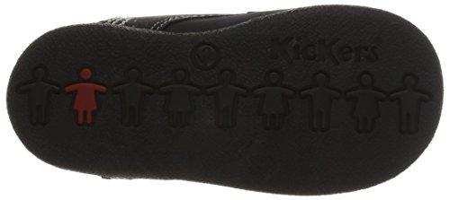 Kickers BABYSTAN - zapatillas de running de cuero Bebé-Niños multicolor - Mehrfarbig (MARINE MARRON/103)