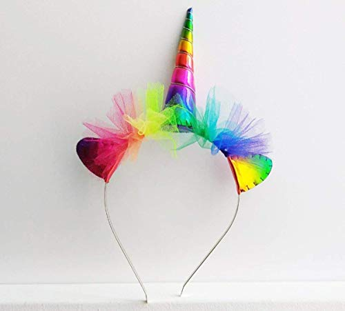 Rainbow Unicorn Headband - Rainbow Unicorn Horn
