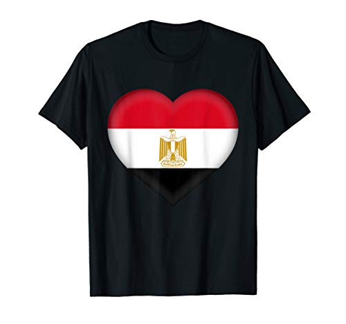   Egyptian Flag Heart Outfit ()
