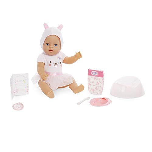 Baby Born Interactive Doll - Blue Eyes with 9 Ways to Nurture