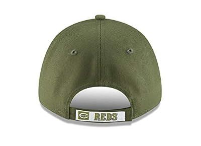 New Era 9Forty Cincinnati Reds Hat The League Alt Adjustable Green Camo Cap
