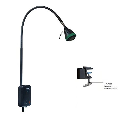 35 Exam Light - NSKI Dental 35W Surgical Medical Exam Halogen Lamp KD-201B-1 with Table Clip Flexible