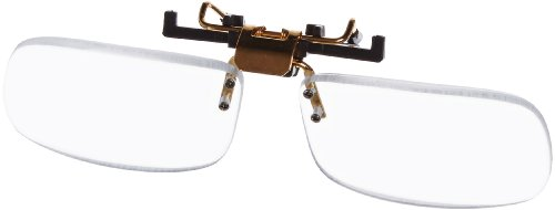 Small Clear Clip-on Flip-up Magnifying Reading Glasses +3.00 - Glasses Vs Lenses