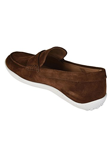 Tods Mocassino Marrone in camoscio Marrone XXM08A00010RE0