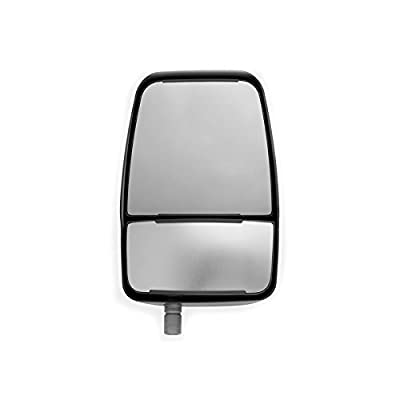 Velvac 714580 Replacement Mirror Head, Right Side, Black, Manual, 1 Pack: Automotive