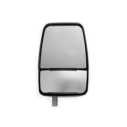 Velvac 714580 Replacement Mirror Head, Right Side, Black, -