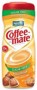 Nestle Coffee Mate HAZELNUT SUGAR FREE 15 oz. (Pack of 3)