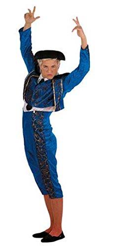 Disfraz de Torero Azul para hombre: Amazon.es: Juguetes y juegos