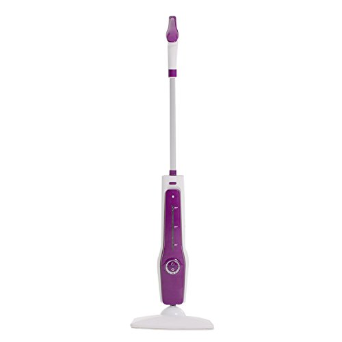 HYD-PARTS Steam Mop,1000W/11OZ Microfiber Pocket Tile Steam Cleaner,Wood Floor Cleaner Home use Purple Color by HYD-PARTS (Image #5)