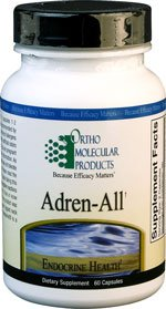 Ortho Molecular Adren-All 60ct [Health and Beauty] For Sale