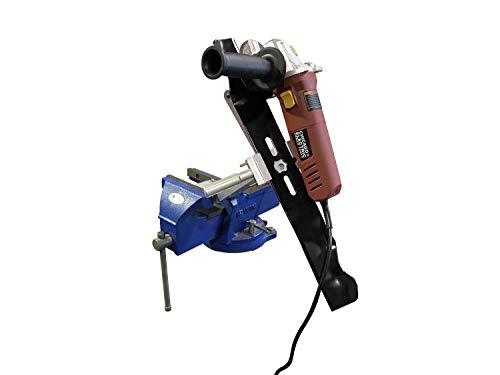 MB Machine LLC Lawn Mower Blade Sharpener Adjustable for Mulching and Standard Blades