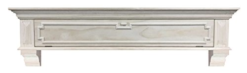 Pearl Mantels Thomas Drop Front Storage Shelf, 48-Inch, ()