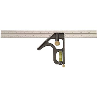 Johnson Level & Tool 400EM-S 12-Inch Metal Combination Square from Johnson Level & Tool
