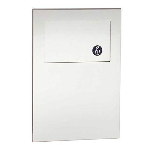 (Bobrick B35303 TrimLine Series Recessed Sanitary Napkin Disposal Unit)