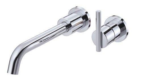 Danze D216058 Parma Single Handle Wall Mount Lavatory Faucet, Chrome -