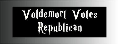 Voldemort Votes Republican Sticker Decal