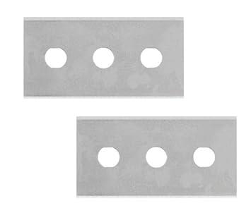 Metaltex 297012 - Juego de 2 Cuchillas para rascador vitrocerámica