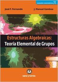 Amazon In Buy Estructuras Algebraicas Teoria Elemental De
