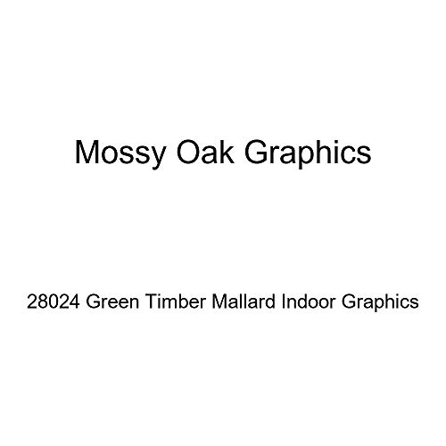 (Mossy Oak Graphics 28024 'Green Timber Mallard' Indoor)
