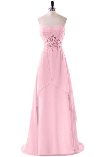 Missdressy -  Vestito  - linea ad a - Donna rosa 44