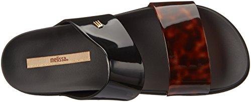 sale online store Melissa Women's Cosmic Slide Sandal Black/Tortoise official cheap price cheap sale fashion Style dN43ohW