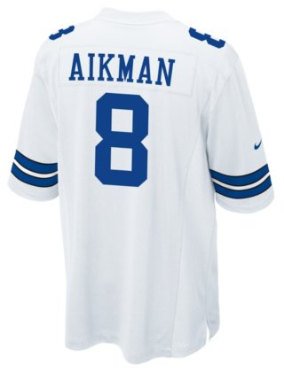 80d4d9653 Image Unavailable. Image not available for. Color  Dallas Cowboys Legend  Troy Aikman Nike Game Replica Jersey