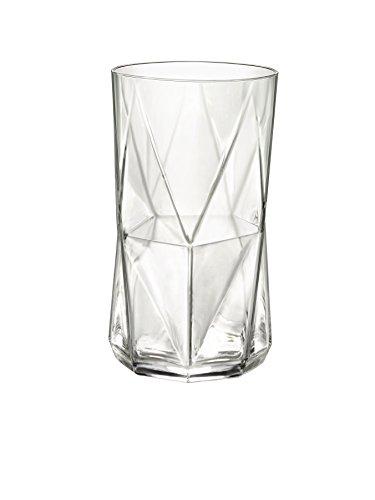 Bormioli Rocco Cassiopea 16.25 oz. Cooler Glass, Set of 4 (4 Cooler Glasses)