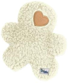 Grriggles 8-1 2-Inch Poly Berber Fleece Yukon Boy Dog Toy, White by PetEdge Dealer Services