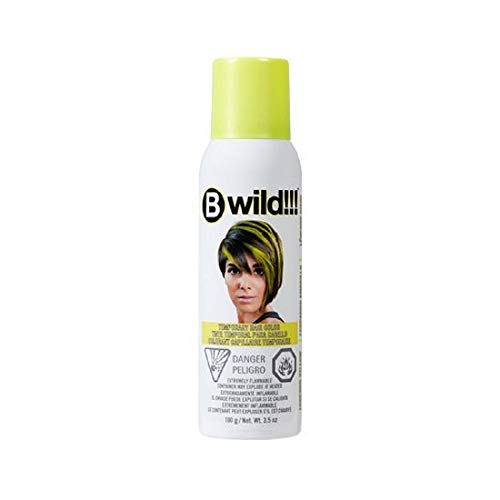 Jerome Russell B Wild Temporary Hair Color Spray - LEOPARD YELLOW 3.5OZ ()