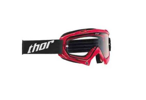 (Thor Enemy Youth Goggles , Primary Color: Red, Distinct Name: Tread Red/Clear Lens, Size Segment: Youth, Gender: Boys 2601-1736)