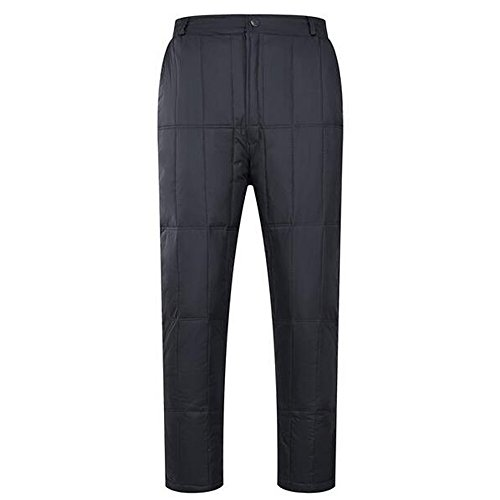82456f0019b KINDOYO Men Outdoor Skiing Pants Keep Warm Winter Goose Down Pants Size   L-4XL