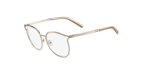 Chloè CE2126 719 52 Monturas de gafas, Gold/Nude, Unisex-niños: Amazon.es: Ropa y accesorios