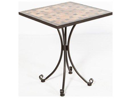 Alfresco Home Square Recco Mosaic Outdoor Bistro Table