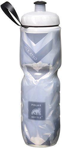 Polar Bottle Insulated Water Bottle (24-Ounce) (Chevron Black)