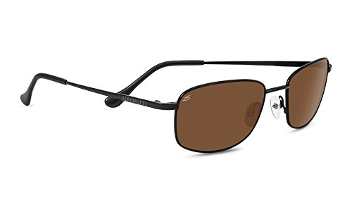 Serengeti 8383 Palinuro Polarized Drivers Sunglasses, Satin Black by Serengeti