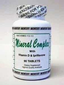 Mineral Complex w / D & Ipriflavone 90 tabs (MINE8)