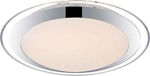 Plafoniera Led Soffitto Rotonda : Plafoniera led a 1 luce lampada corridoio soffitto rotonda satinato