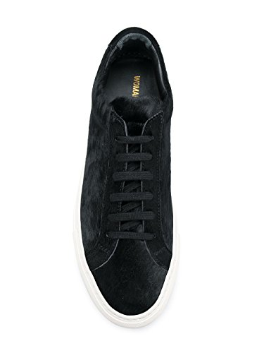 2123BLACK Cuir Noir PROJECTS COMMON Femme Baskets nTWYwz