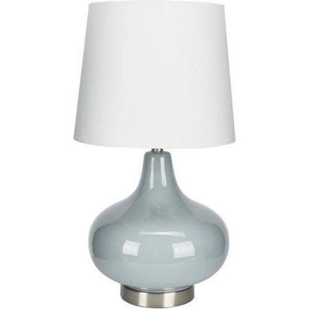Better Homes And Gardens Ceramic Table Lamp, Soft Blue