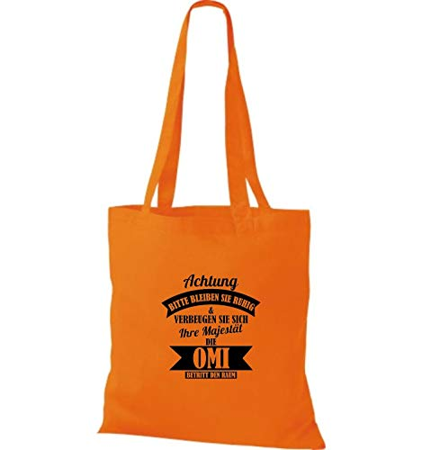 Asas Shirtstown Naranja Sho09789 Mujer Para Bolso De CC7pRnqS
