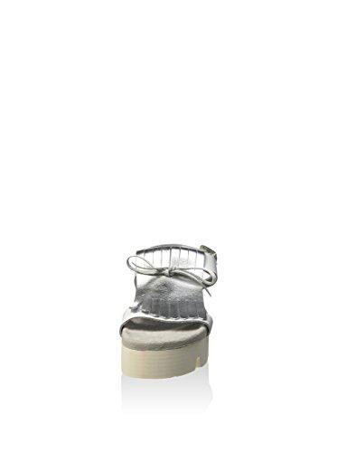 Fornarina silver White Argento Donna Yuki bianco Sandali gxrqnwOHg